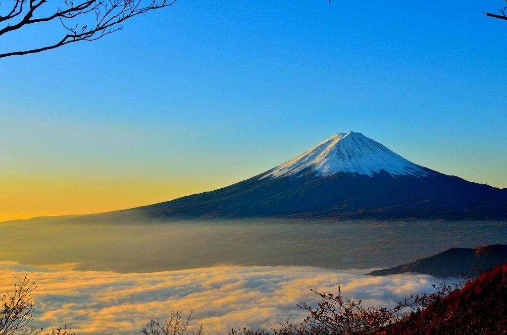 富士山を見たい