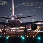 飛行機のコンセント